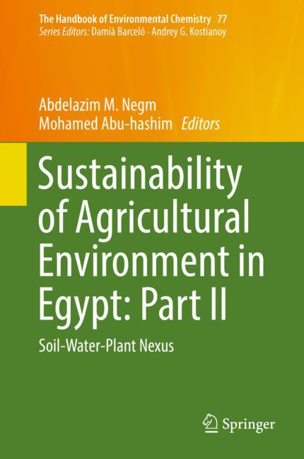Cover of 'Sustainability of Agricultural Environment in Egypt: Part II'
