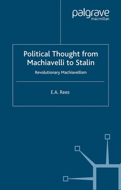Cover of 'Political Thought from Machiavelli to Stalin'