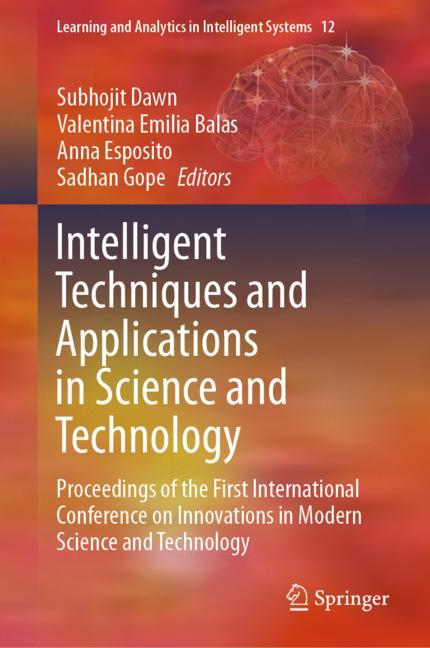 Cover of 'Intelligent Techniques and Applications in Science and Technology'