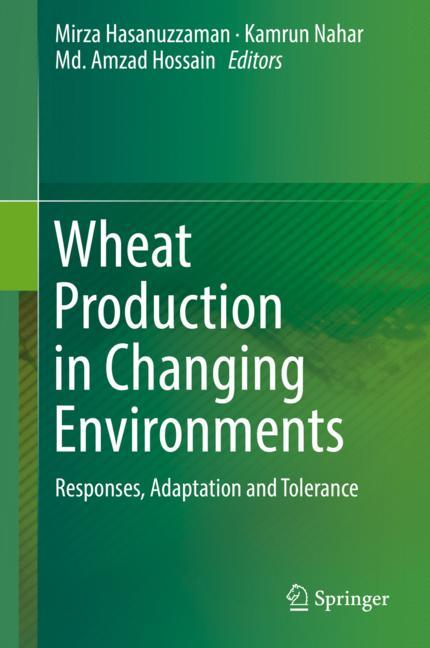 Cover of 'Wheat Production in Changing Environments'