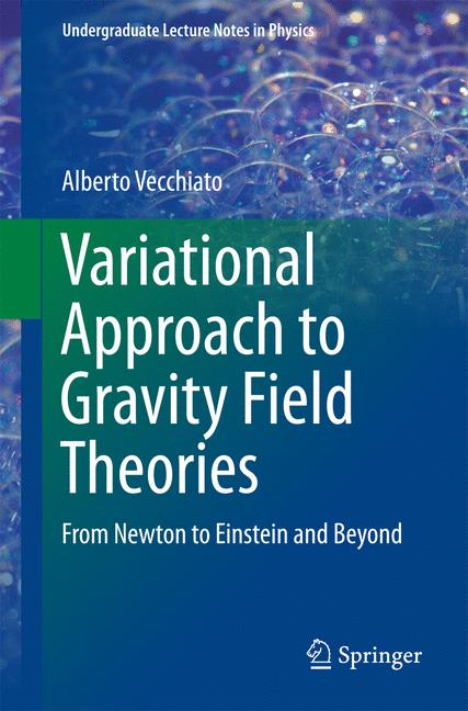 Cover of 'Variational Approach to Gravity Field Theories'