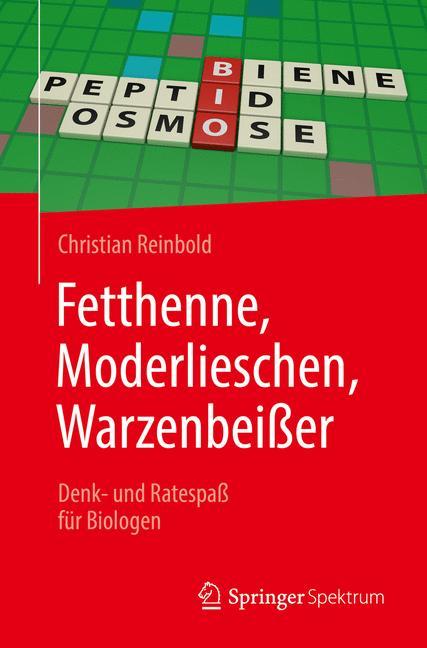 Cover of 'Fetthenne, Moderlieschen, Warzenbeißer'