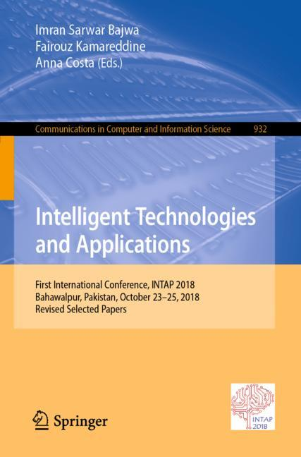 Cover of 'Intelligent Technologies and Applications'