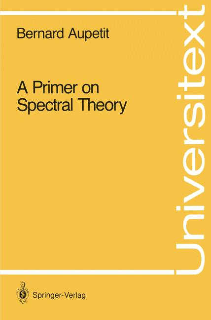 Cover of 'A Primer on Spectral Theory'