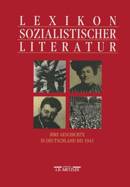 Cover of 'Lexikon sozialisticher Literatur'