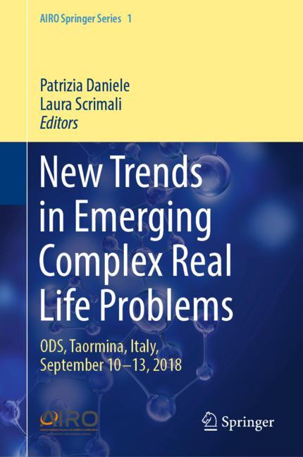 Cover of 'New Trends in Emerging Complex Real Life Problems'