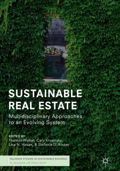 Cover of 'Sustainable Real Estate'