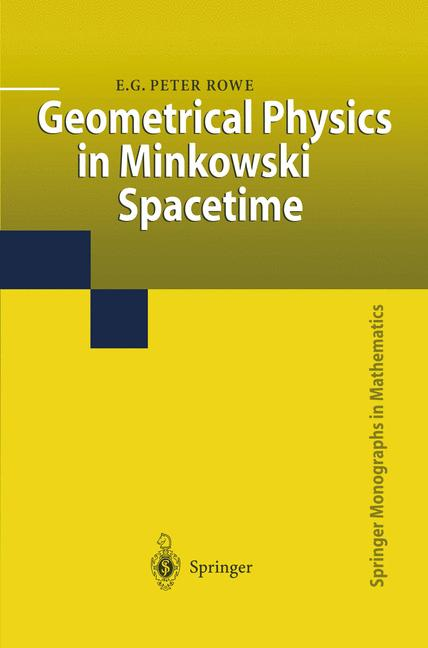 Cover of 'Geometrical Physics in Minkowski Spacetime'