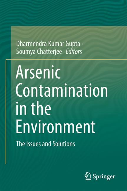 Cover of 'Arsenic Contamination in the Environment'