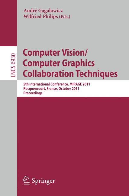 Cover of 'Computer Vision/Computer Graphics Collaboration Techniques'