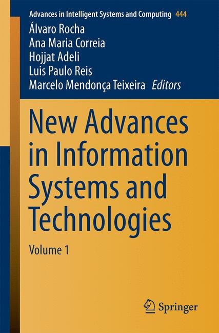 Cover of 'New Advances in Information Systems and Technologies'