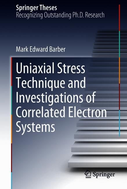 Cover of 'Uniaxial Stress Technique and Investigations of Correlated Electron Systems'
