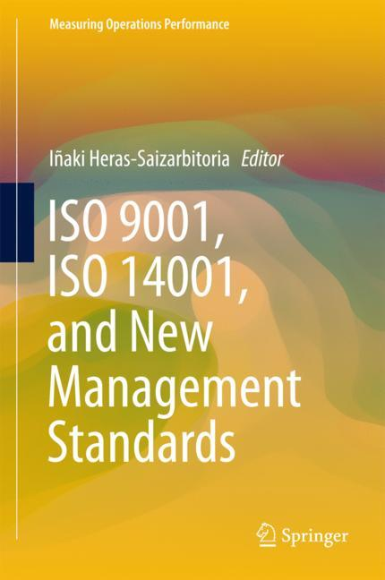 Cover of 'ISO 9001, ISO 14001, and New Management Standards'
