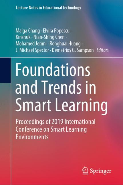 Cover of 'Foundations and Trends in Smart Learning'