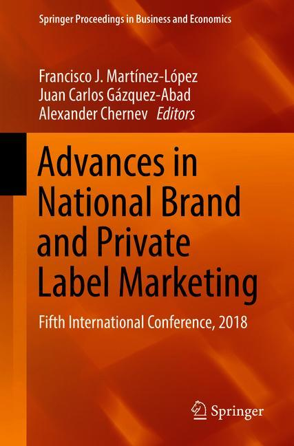 Cover of 'Advances in National Brand and Private Label Marketing'