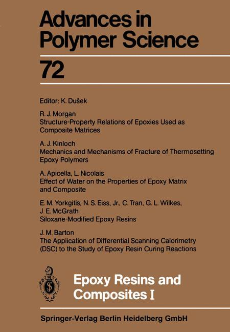 Cover of 'Epoxy Resins and Composites I'