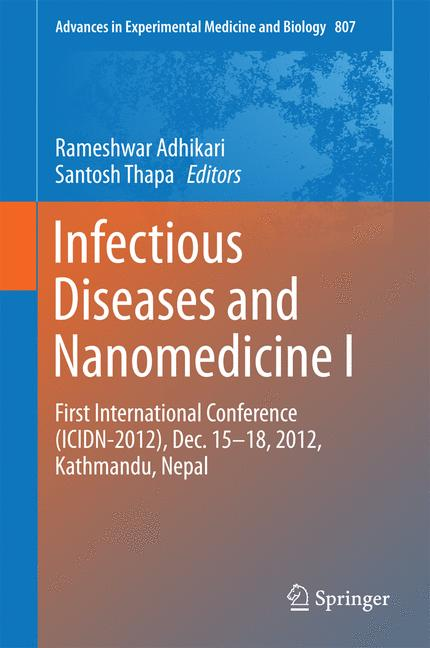 Cover of 'Infectious Diseases and Nanomedicine I'