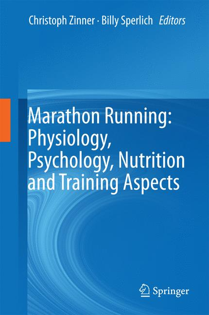 Cover of 'Marathon Running: Physiology, Psychology, Nutrition and Training Aspects'