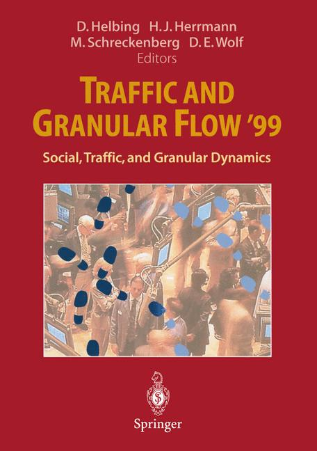 Cover of 'Traffic and Granular Flow '99'