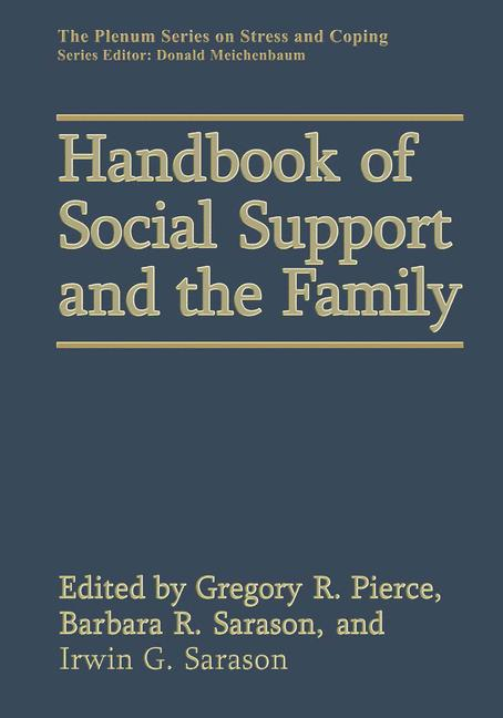 Cover of 'Handbook of Social Support and the Family'