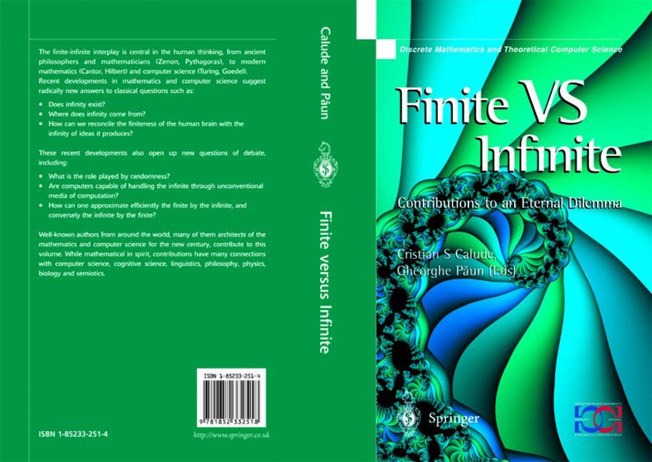 Cover of 'Finite Versus Infinite'