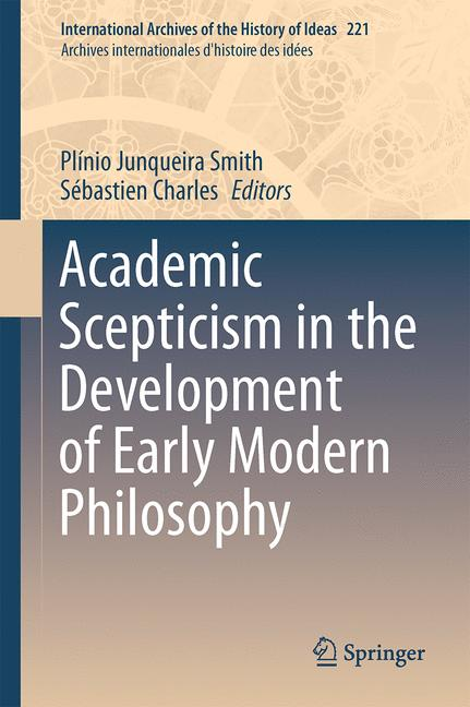 Cover of 'Academic Scepticism in the Development of Early Modern Philosophy'