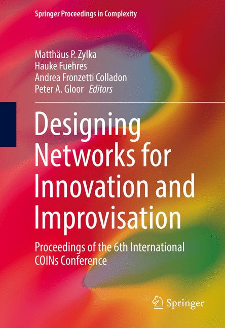 Cover of 'Designing Networks for Innovation and Improvisation'