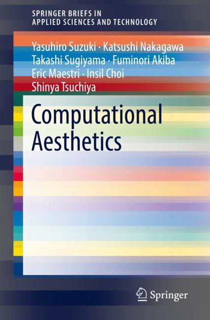 Cover of 'Computational Aesthetics'