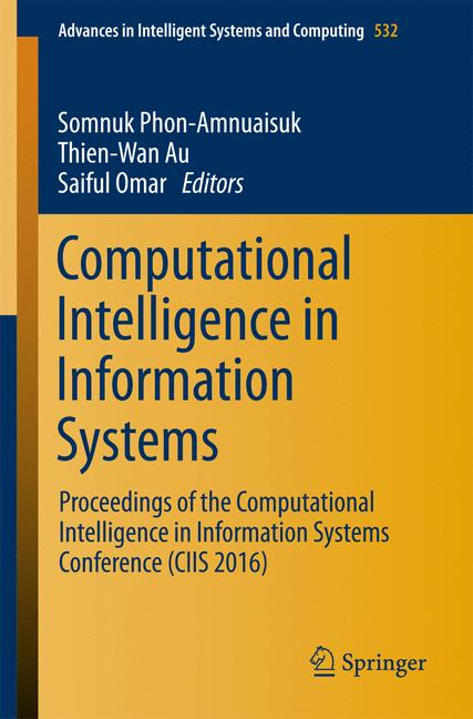 Cover of 'Computational Intelligence in Information Systems'