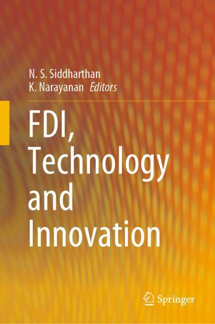 Cover of 'FDI, Technology and Innovation'