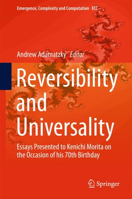 Cover of 'Reversibility and Universality'
