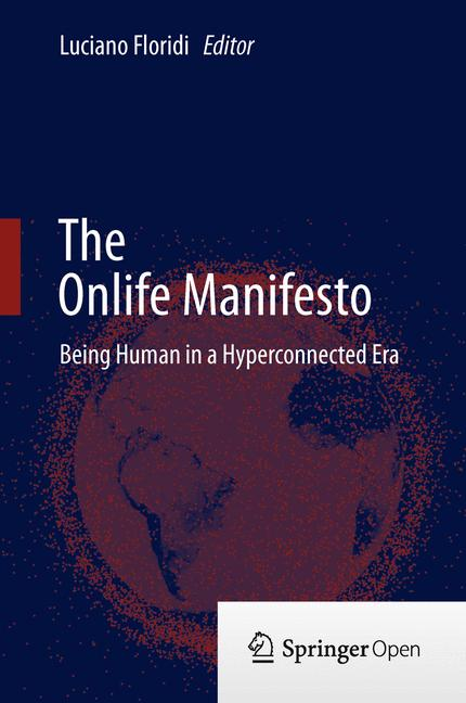 Cover of 'The Onlife Manifesto'
