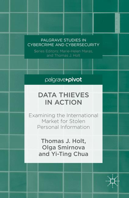 Cover of 'Data Thieves in Action'