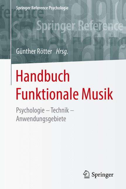 Cover of 'Handbuch Funktionale Musik'