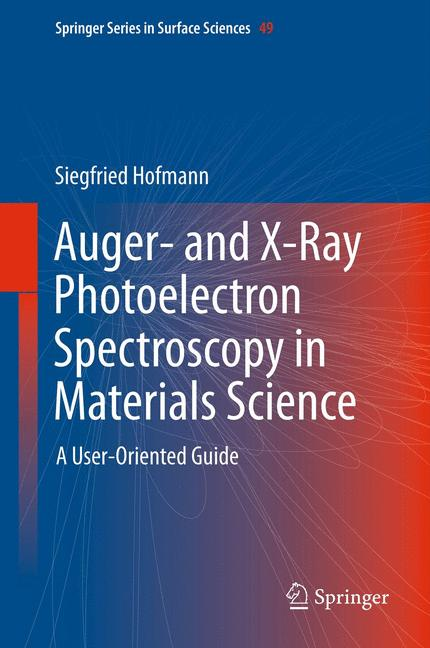 Cover of 'Auger- and X-Ray Photoelectron Spectroscopy in Materials Science'