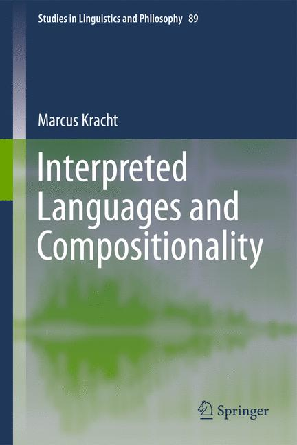 Cover of 'Interpreted Languages and Compositionality'
