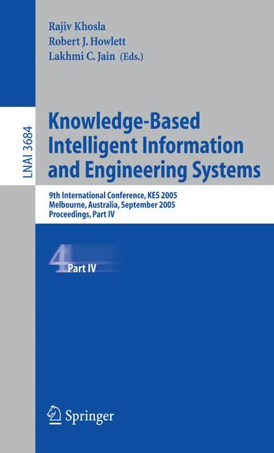 Cover of 'Knowledge-Based Intelligent Information and Engineering Systems'