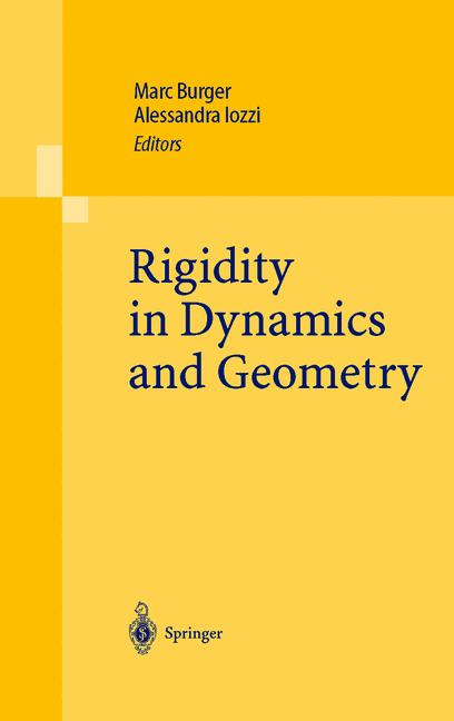 Cover of 'Rigidity in Dynamics and Geometry'