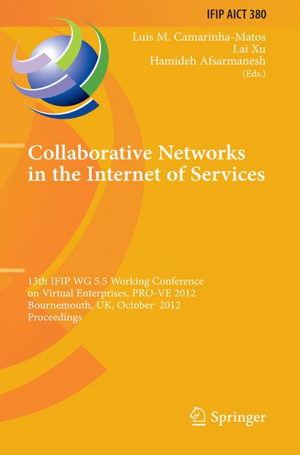 Cover of 'Collaborative Networks in the Internet of Services'