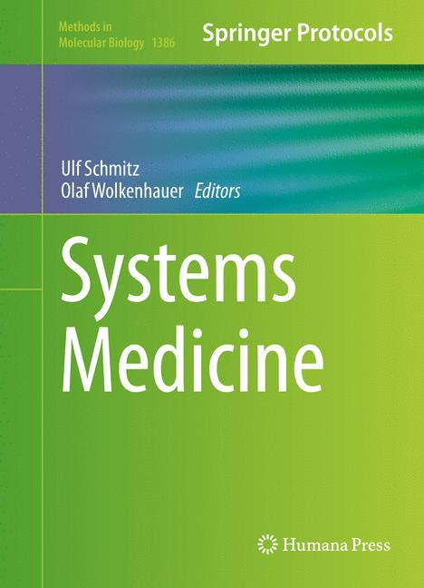 Cover of 'Systems Medicine'