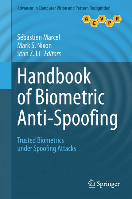 Cover of 'Handbook of Biometric Anti-Spoofing'