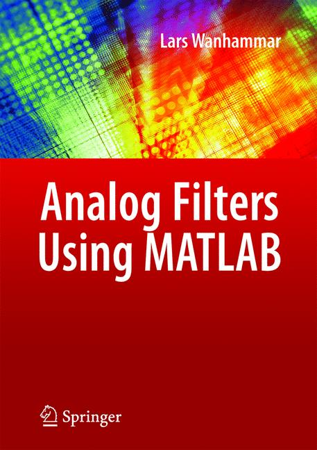 Cover of 'Analog Filters Using MATLAB'