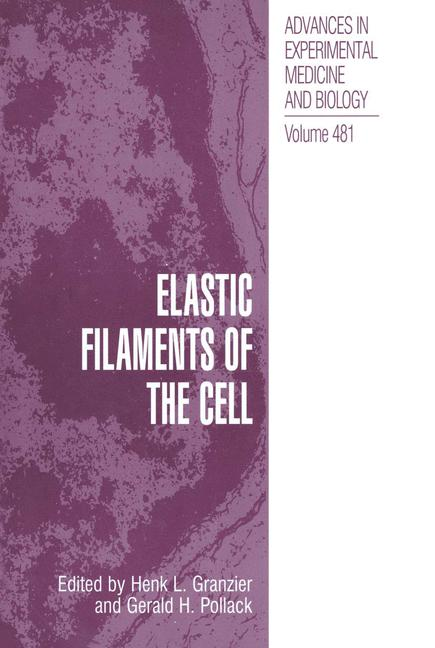 Cover of 'Elastic Filaments of the Cell'