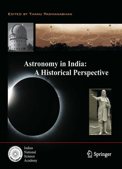 Cover of 'Astronomy in India: A Historical Perspective'