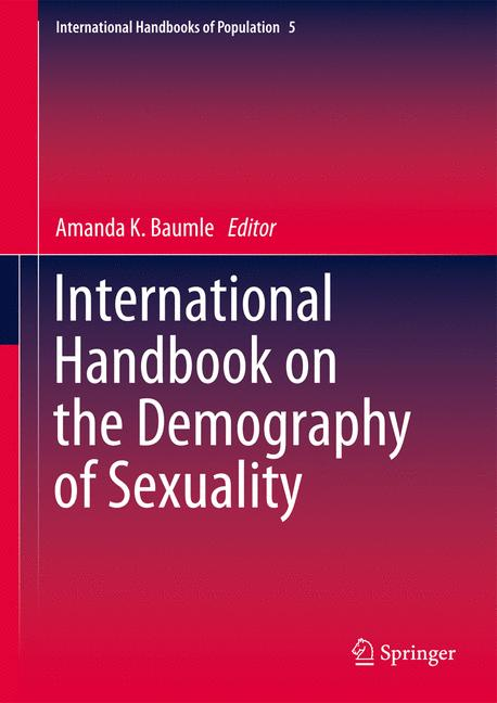 Cover of 'International Handbook on the Demography of Sexuality'