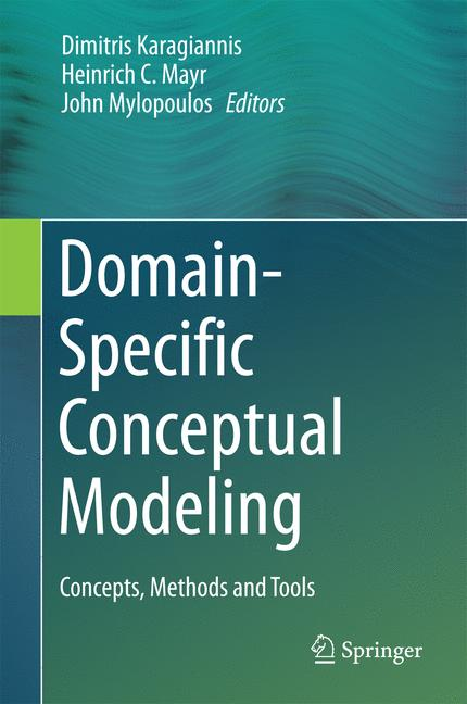Cover of 'Domain-Specific Conceptual Modeling'