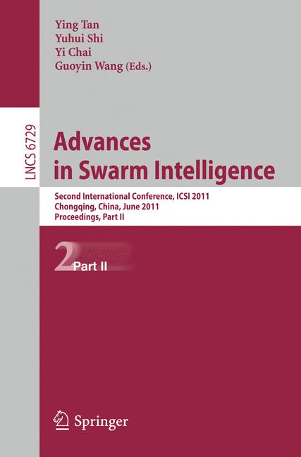 Cover of 'Advances in Swarm Intelligence'