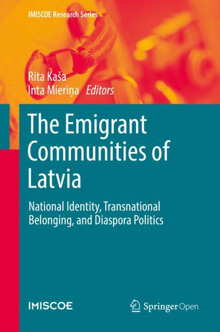 Cover of 'The Emigrant Communities of Latvia'