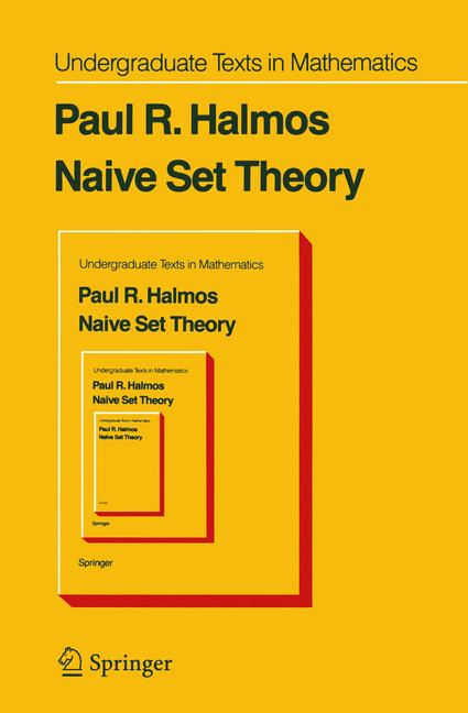 Cover of 'Naive Set Theory'