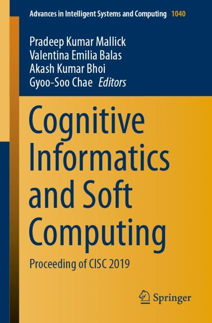 Cover of 'Cognitive Informatics and Soft Computing'